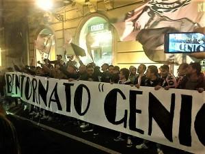 Corini amato dai tifosi rosanero Non c'è dubbio. Foto di Antonio Calandriello