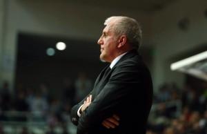 Coach Željko Obradović del Fenerhbaçe, foto tratta da Twitter