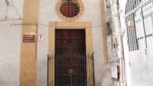 Portone della Sinagoga di Palermo