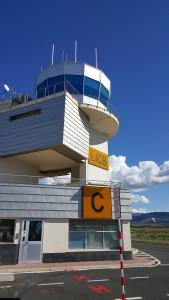 Torretta di controllo, aeroporto di Comiso, foto di Carlo Dani