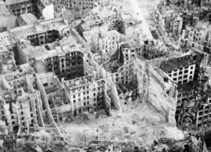 Berlino alla fine della seconda Guerra Mondiale.