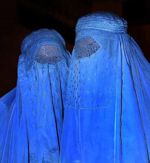 Burqa Evans
