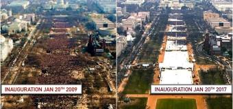 Inaugurazione, il flop di Trump