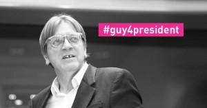 Guy for President. Twittato dall'account di ALDE.
