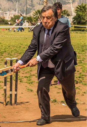 Orlando gioca a cricket