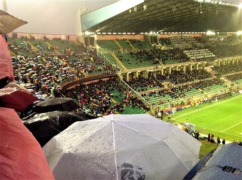 Palermo Inter 0-1 sotto la pioggia 2 foto di Gabriele Bonafede M