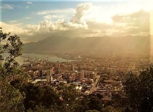 Palermo vista da una prospettiva particolare. Foto di Gabriele Bonafede