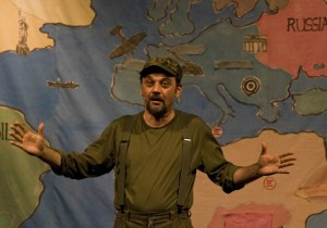 Mario Spallino in Stupidorisiko, al Piccolo Teatro Patafisico di Palermo il 21 e 22 Gennaio 2017