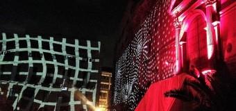 Un mare di luce a Palermo. L'Arca di Noè e il Teatro Potlach illuminano Piazza Pretoria
