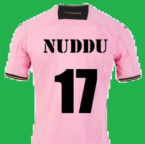 Maglia rosanero Nuddu 17