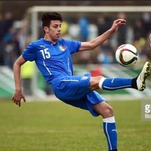 Simone L Faso in maglia azzurra tratta dal suo profilo Facebook