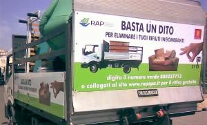 Basta un dito per eliminare i tuoi rifiuti ingombranti