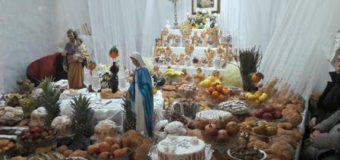Leonforte: l'Artara di San Giusè e il pranzo dei Santi
