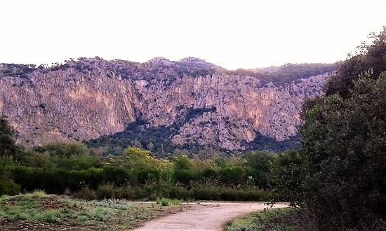 Monte Pellegrino dal Parco della Favorita foto di Marco Landolina