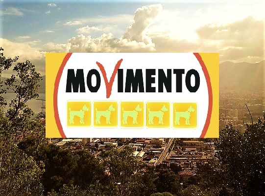 Palermo Movimento Cinque cani 2 M