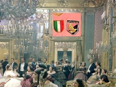 Scena de Il Gattopardo zoom con quadro rosanero2_M