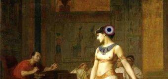 Macron e il naso di Cleopatra