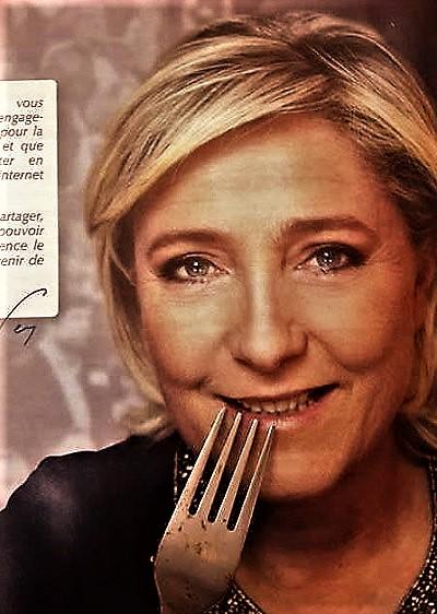 Les « engagements » de Madame Le Pen pour manger et faire manger avec l'argent des contribuables?