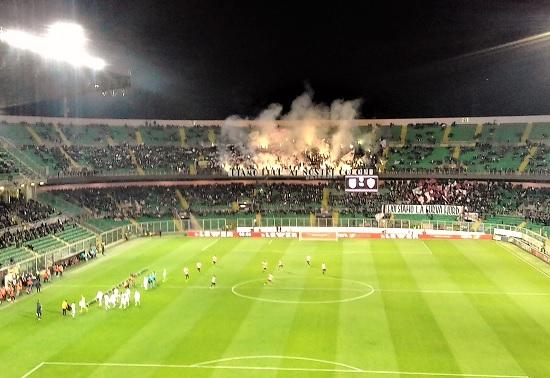 Stadio Barbera in Palermo - Roma 0-3 Foto di Gabriele Bonafede