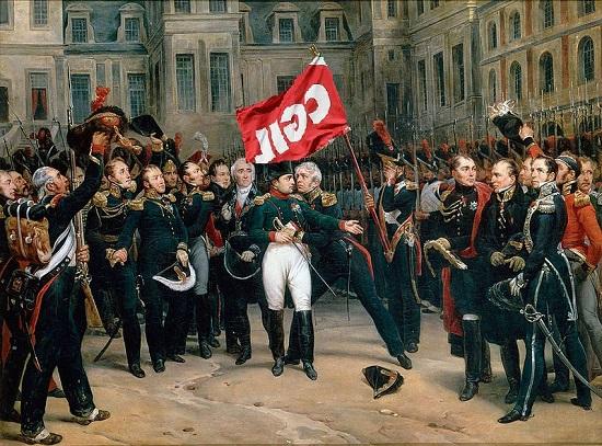 Cgil et Montfort_-_Adieux_de_Napoleon_a_la_Garde_imperiale M