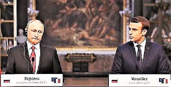 Conferenza Macron Putin M3