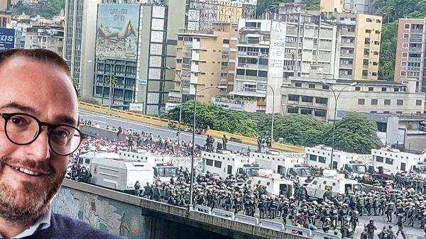 Giusto Catania ed esercito di Maduro in Venezuela M