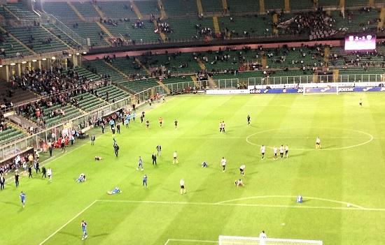 Palermo Empoli 2-1 Fine partita zoom Foto di Gabriele Bonafede