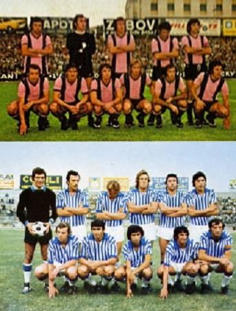 Palermo e Spal squadre anni 70
