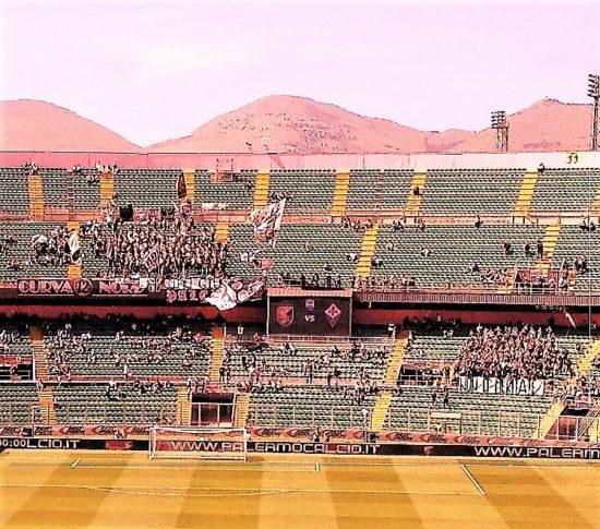 Stadio Barbera Curva Nord in Palermo Fiorentina 2-0 foto di Gabriele Bonafede 3 M