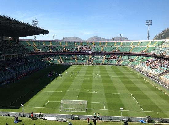 Stadio Barbera Palermo Fiorentina 2-0 foto di Gabriele Bonafede