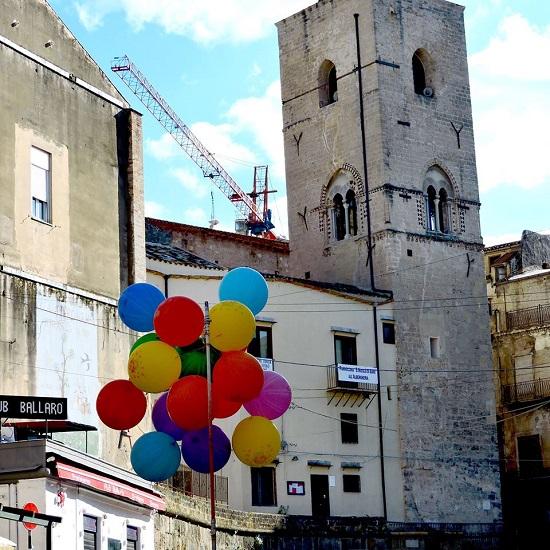 Mi chiamo Ahmed e sono nato a Palermo... e vivo a Ballarò. Foto di Giulio Azzarello