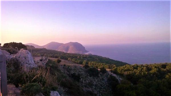 Capo Gallo visto da Monte Pellegrino, foto di Marco Landolina