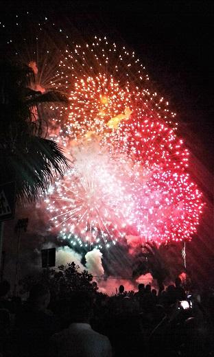 Fuochi di artificio Festino di Santa Rosalia 2016 Foto di Gabriele Bonafede M