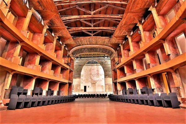 Teatro Garibaldi Palermo sede di Manfesta 12 a Palermo nel 2018