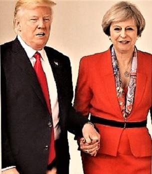 Trump e Mrs Brexit