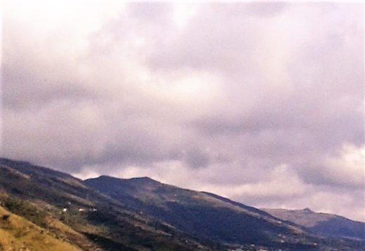Nuvole si addensano sui Monti Nebrodi