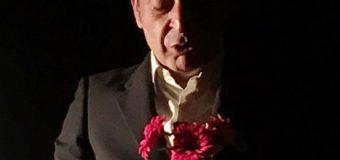 L'omaggio di Filippo Luna al Teatro Ditirammu di Palermo