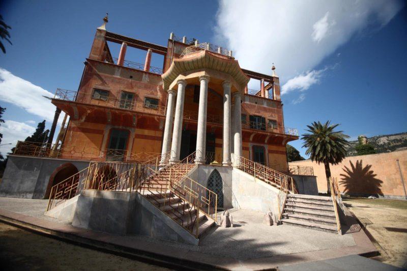 Palermo 30-9- 2013 ( FOTO PETYX PALERMO) nella foto: palazzina cinese