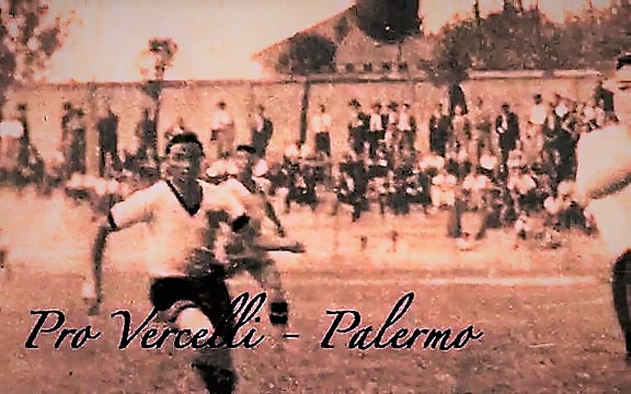 Palermo 1932-33 prima stagione in A Pro Vercelli - Palermo 2-0