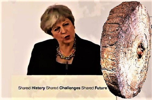 Theresa May reinventing the wheel in Florence.