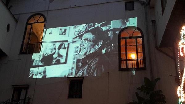 Vito Parrinello immagine proiettata al festinello Ditirammu 2017 1 M