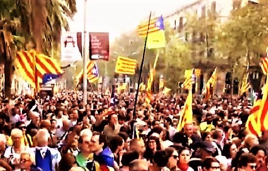 Catalogna dichiarazione di indipendenza da TV 1 T M