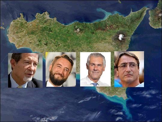 Sicilia sondaggi 4 candidati