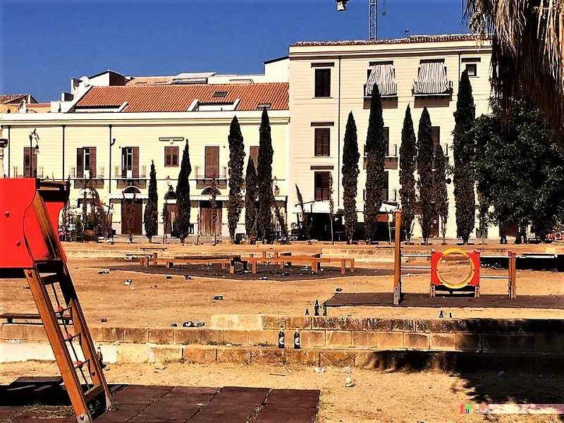 Piazza Magione a Palermo