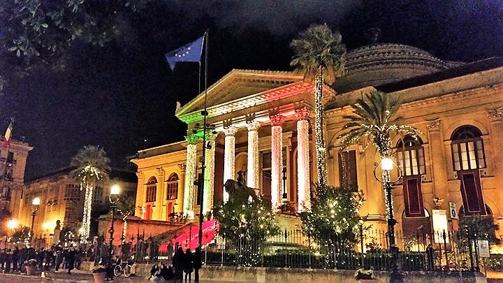 Palermo Capitale della Cultura, il Teatro Massimo in festa il primo di gennaio 2018