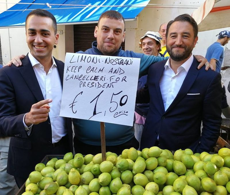 Dalla Sicilia con agrumi...