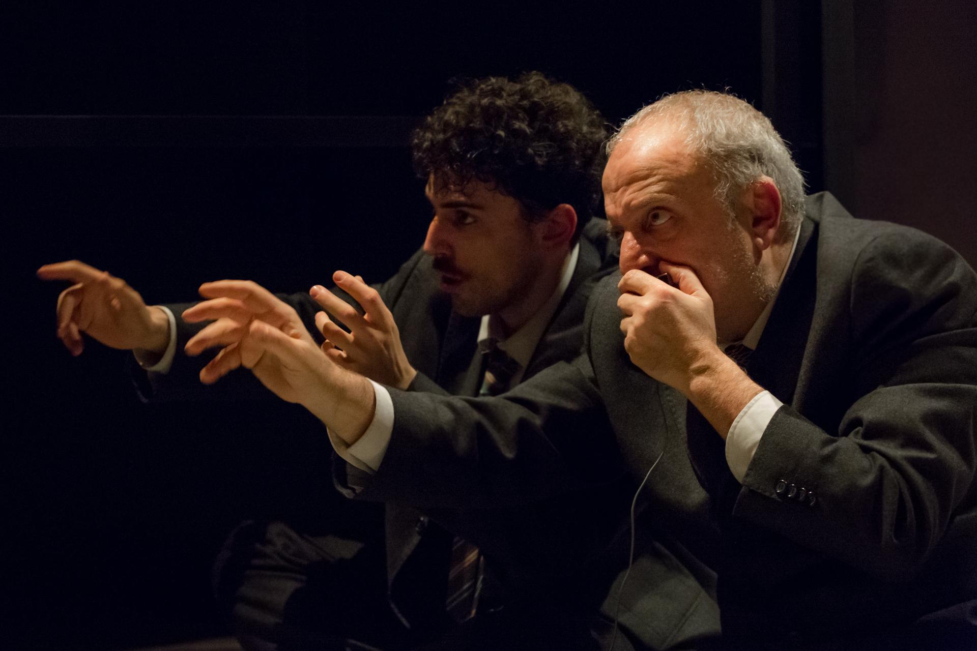 """Teatro Biondo Palermo  """"Fratelli"""" di Claudio Collovà ph © rosellina garbo 2018"""