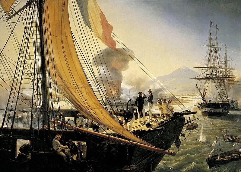 Épisode_de_l'expédition_du_Mexique_en_1838 da Wikipedia