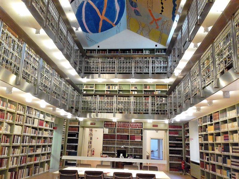 Biblioteca palazzo Branciforte foto di Giusi Andolina 1 T