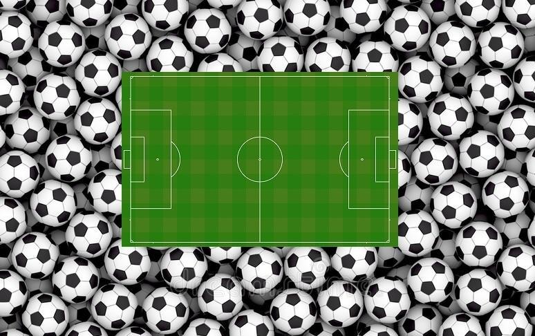 Canpo di calcio e palloni M